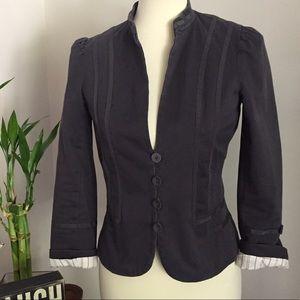 Marc Jacobs Jackets & Blazers - Marc Jacobs grayish navy blazer with great detail.
