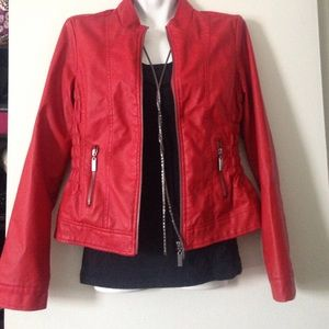 New Look Jackets & Blazers - Faux Leather Jacket