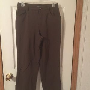 Banana Republic stretch brown pants size 4.