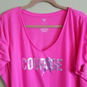 aa571a936 Lane Bryant Tops | Plus Size Breast Cancer Awareness Tshirt | Poshmark