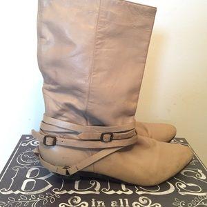 "Frye Shoes - Vintage ""FRYE"" cream boots"