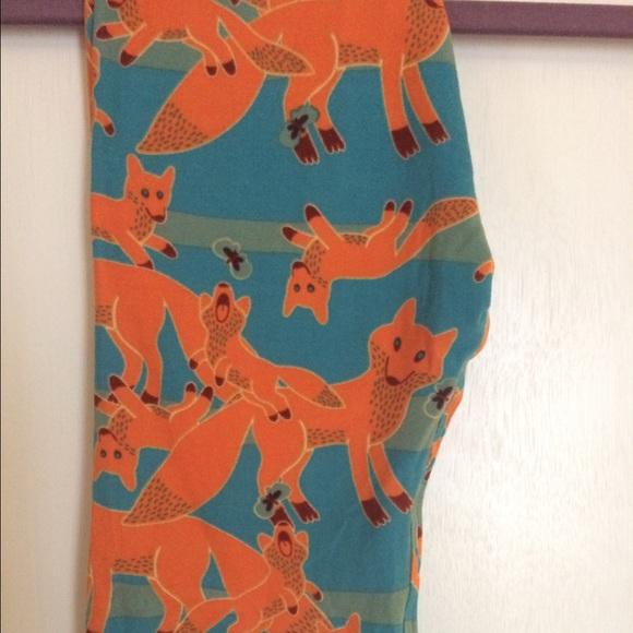 b5d8c49fb LuLaRoe Bottoms | Kids Sm Fox Leggings Unicorn Bnwt | Poshmark
