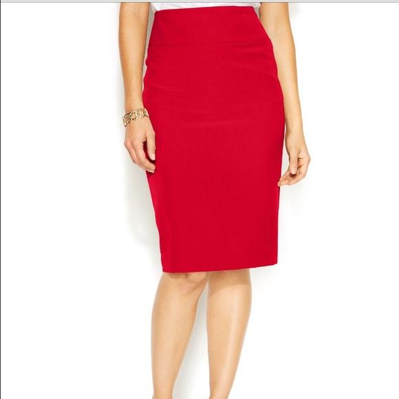 6552ab9e0c Alfani Skirts | Classic Pencil Skirt | Poshmark