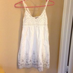 Dresses & Skirts - Boho babydoll white dress