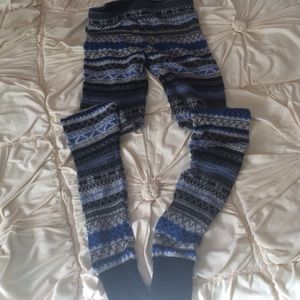 Free People warm cozy leggings!!