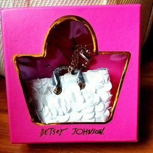 Betsey Johnson Mini Bag Dangle