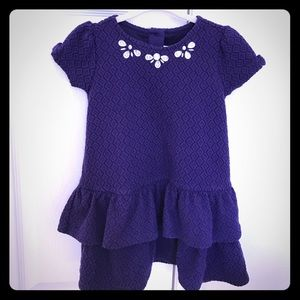 Gymboree Other - Gymboree Purple Textured Dress 3T