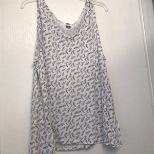 Old Navy Tops - Cute feather tank