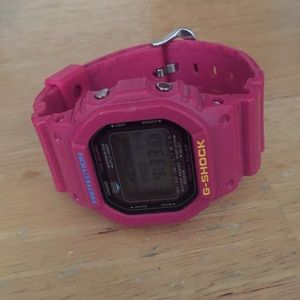 G-Shock Other - Hot Pink Casio G-Shock with Tin case and box