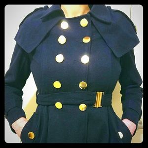Jackets & Blazers - New with tags navy blue dress coat