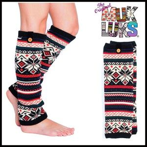 Muk Luks Accessories - ❗1-HOUR SALE❗MUK LUKS LEG WARMERS BOOT COVERS