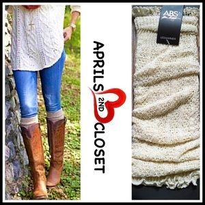 ABS Allen Schwartz Accessories - ❗1-HOUR SALE❗ABS Crochet Leg Warmers Boot Covers
