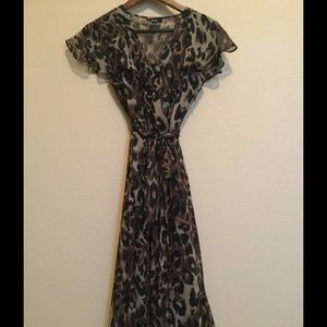 MSK Dresses & Skirts - Leopard print dress.