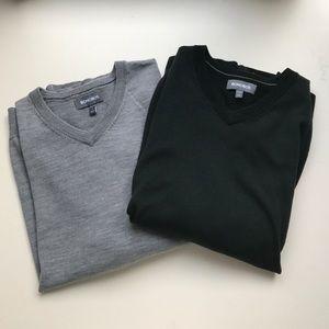 Bonobos Other - Bonobos V-neck Bundle wool sweaters
