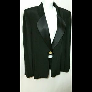 Saks Fifth Avenue Jackets & Blazers - Saks Fifth Avenue Silk Jacket