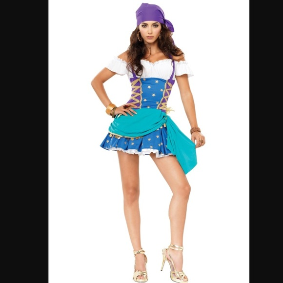 gypsy princess dress costume sm