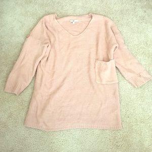 Ya Los Angeles mauve sweater
