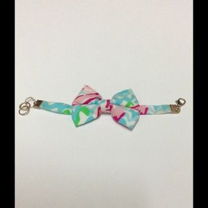 Lilly Pulitzer Jewelry - Lilly Pulitzer Lobstah Roll Bow Bracelet