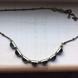 "UO black necklace, 18"""