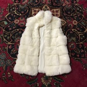 Off white vest