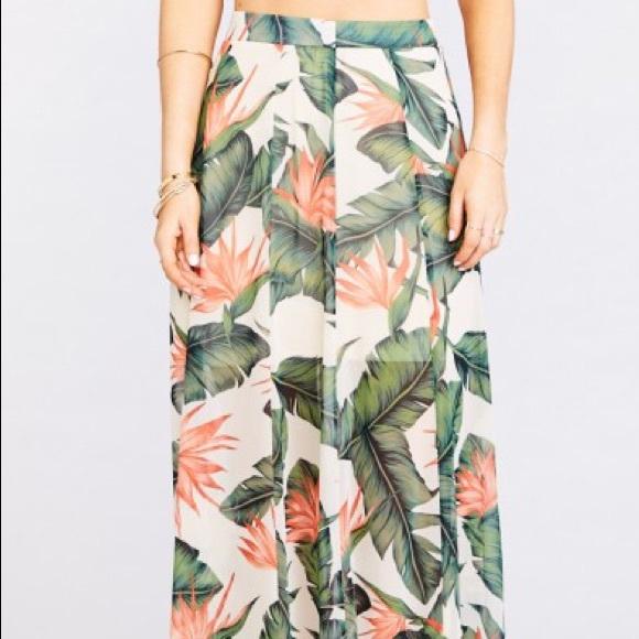 Show Me Your MuMu Skirts   Princess Ariel Ballgown Maxi Skirt   Poshmark