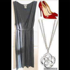 Ann Taylor Petites Faux Wrap Dress