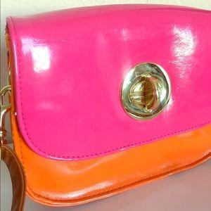 ASOS Orange and Pink bag