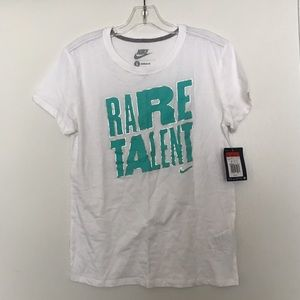 NWT Nike Rare Talent T Shirt
