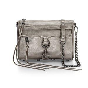 Rebecca Minkoff Handbags - Rebecca Minkoff mini M.A.C. in gunmetal!!