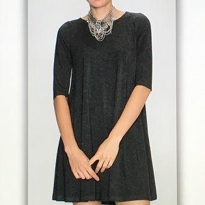 Dresses & Skirts - Gray bamboo leggings dress