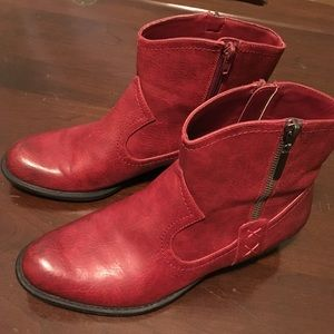 Studio Paolo Red Boots