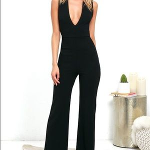 Lulus Thinking Out Loud Jumpsuit