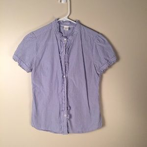 J. Crew button button up blouse. Size 2.