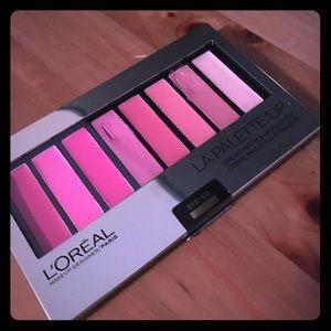 L'Oréal La Palette Lip in Pink