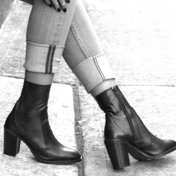Topshop Magnificent Sock Boots