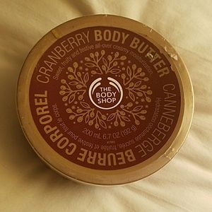 The Body Shop cranberry body butter