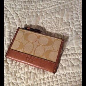 Coach Handbags - Coach ID holder coin purse