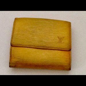 Authentic Vintage Louis Vuitton Epi Wallet Foldout