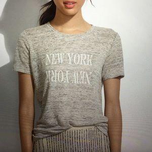 Madewell 'linen New York New York tee'!