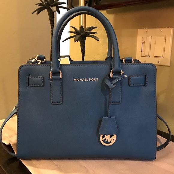 d0470970bb08 ... sale for malenanwt mk dillon satchel navy blue michael kors bag out of  30e85 af805