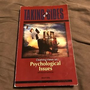 Other - Taking sides classic views on psychological issues