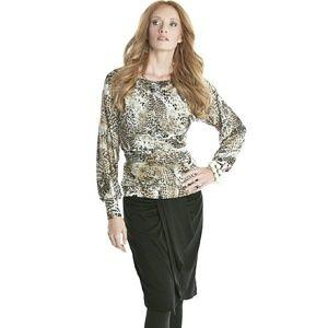 Lilac Clothing Tops - NEW Leopard Cheetah M NWT Maternity Shirt Top!