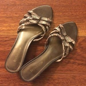  Vintage Leather Strappy Sandals