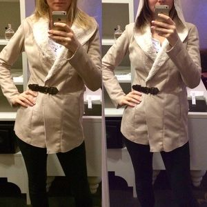 Bershka Jackets & Blazers - Bershka faux fur/suede coat