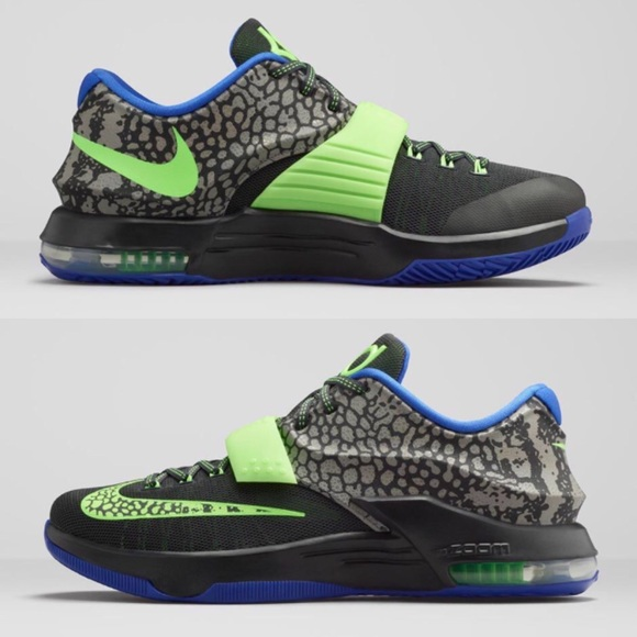 low priced 3771f e104a Nike KD 7 Electric Eel