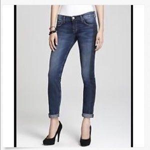 CURRENT/ELLIOTT Low DEADSTOCK Skinny Ankle Jeans