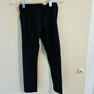 Children's Place Other - NWT Children's Place Black Sequined Leggings