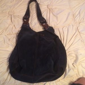 Lucky Brand suede hobo bag!!