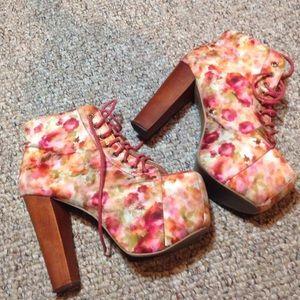 Jeffrey Campbell flower heels