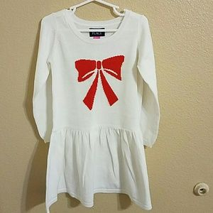 Children's Place Other - Children's Place NWT White Sweater Dress size 4T